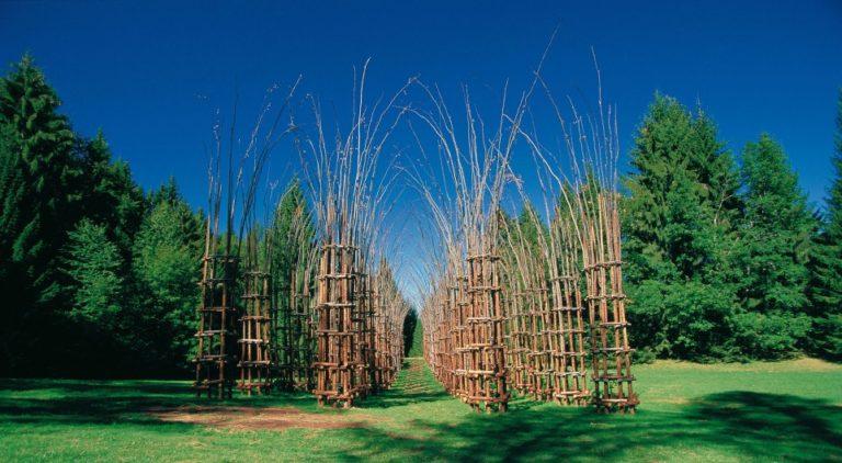 Scoprire l'arte contemporanea nei boschi della Val di Sella