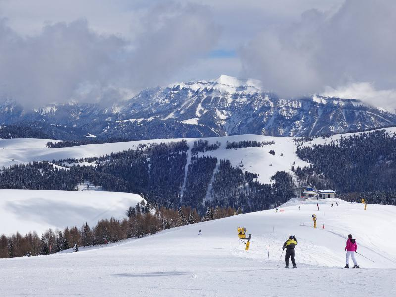 Das Skigebiet von Brocon